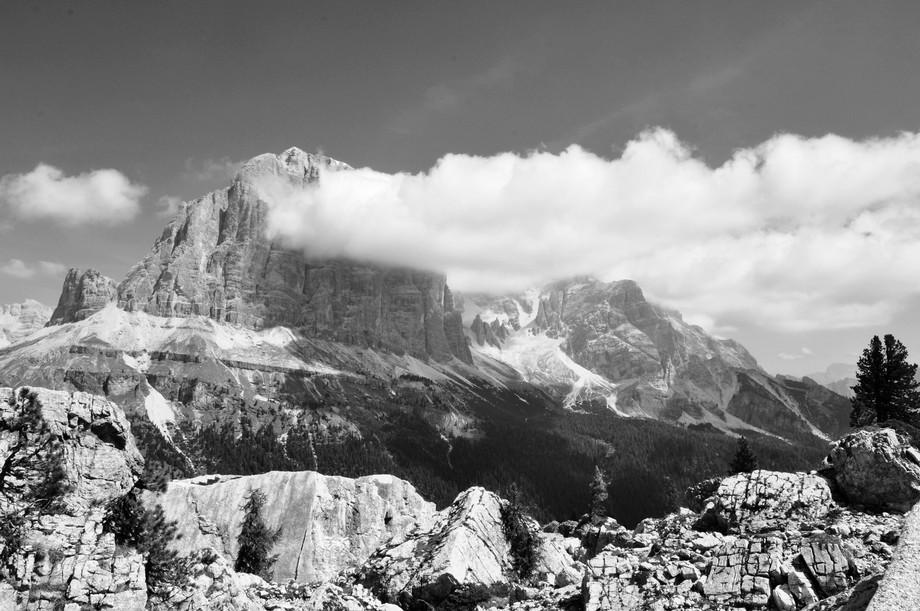 The Tofana di Rozes, Dolomites