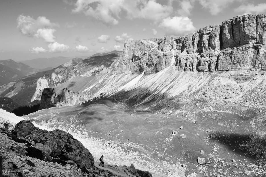 The Puez-Odle Altopiano, Dolomites