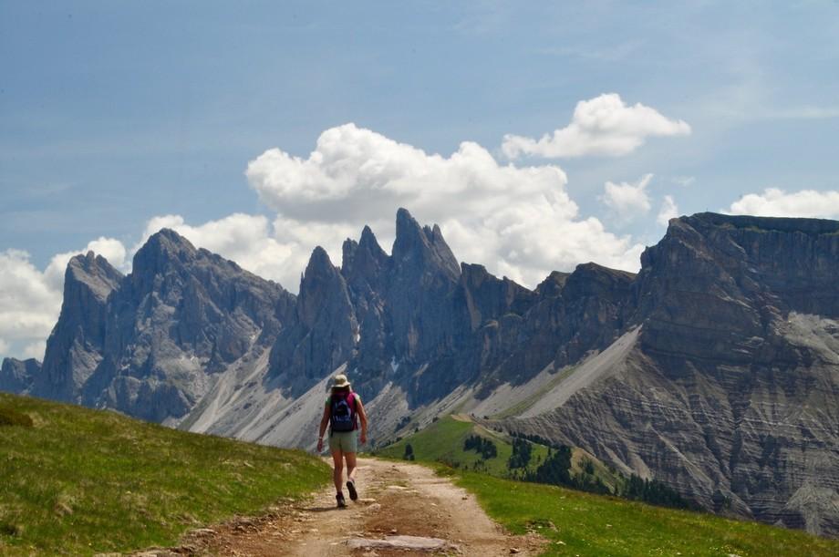 The Rasciesa Ridge, Dolomites