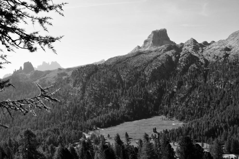 Overlooking Cortina