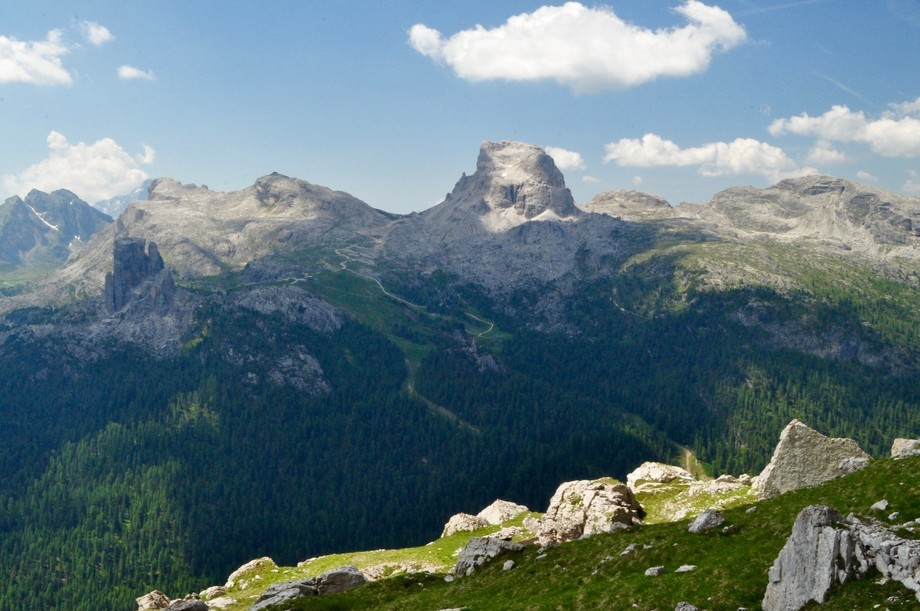 Above the Cortina Valley