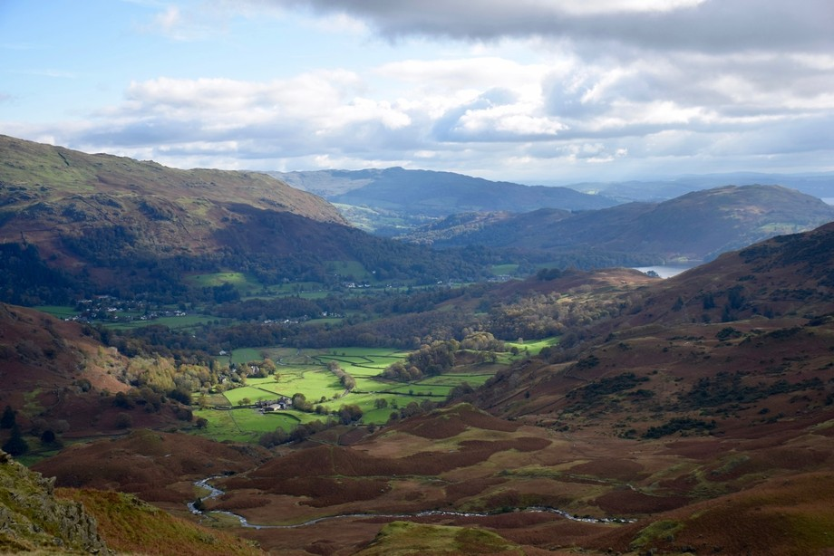 Grasmere from Tarn Crag