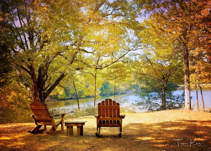 Lakeside by tonyahurseyboyd - My Favorite Chair Photo Contest