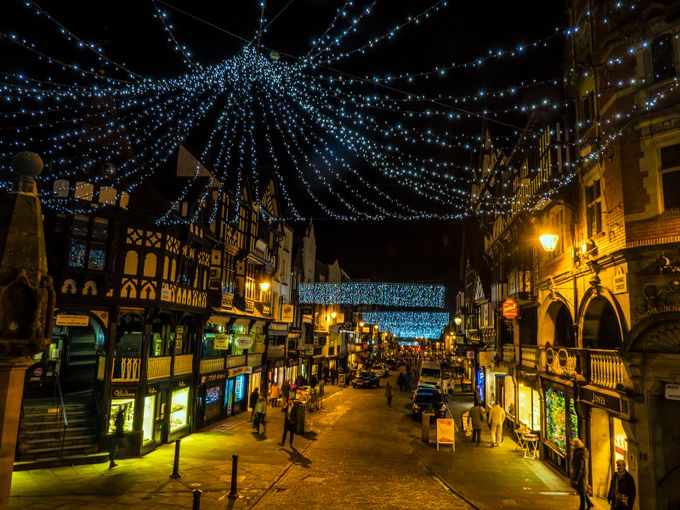City Lights by snowdon - Holiday Lights Photo Contest 2017