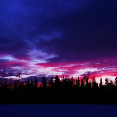 Another back yard sunrise Nikon Coolpix 6500  VI Dusk