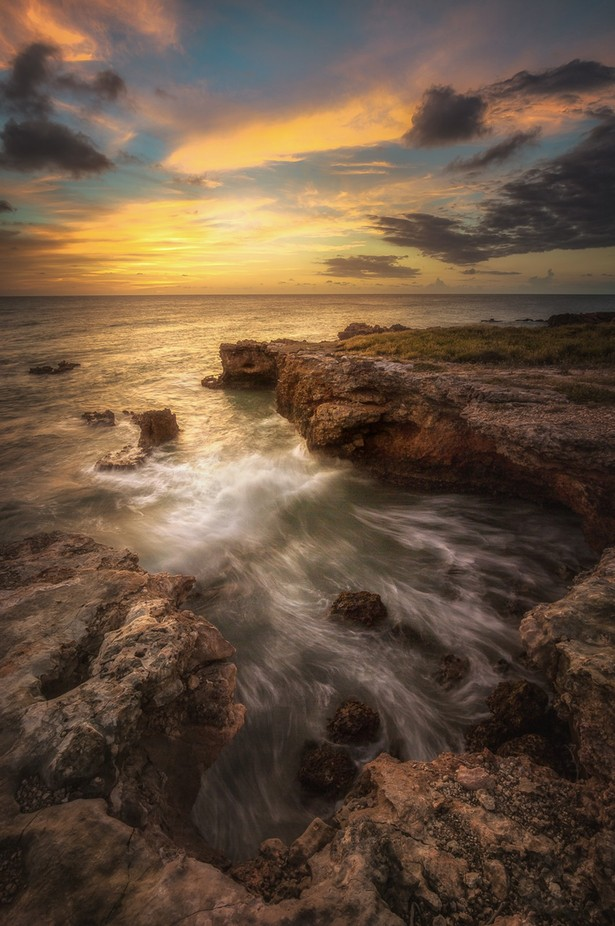 Rocky Shore. by Alfredo_Jose - Creative Landscapes Photo Contest