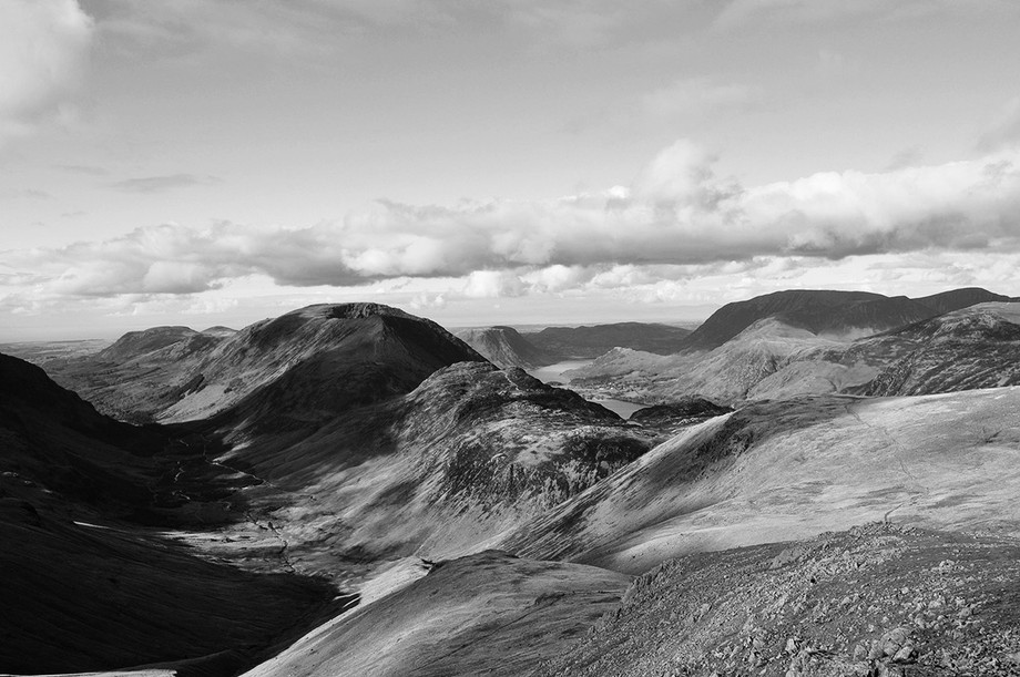 Westerly view from Green Gable