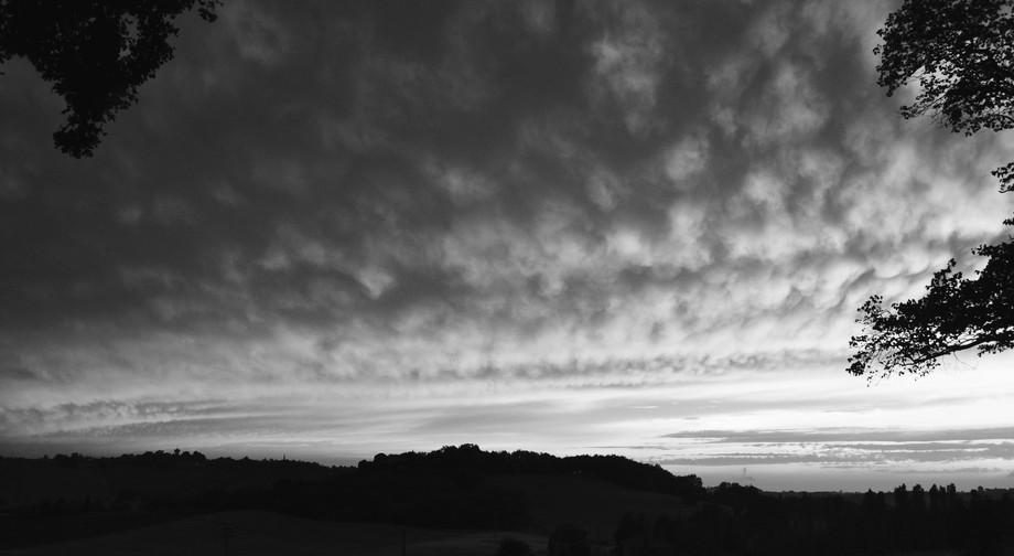 Fish scale sky