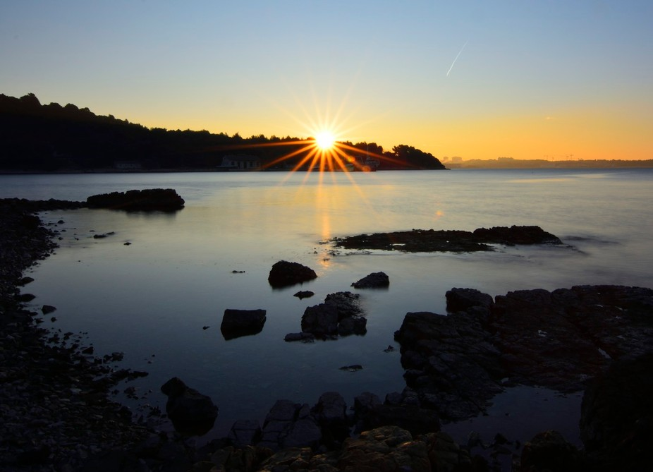 The dawn in Pula