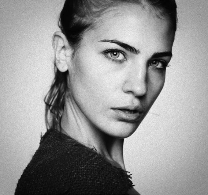 Untitled Portrait by charliewang - Black And White Female Portraits Photo Contest