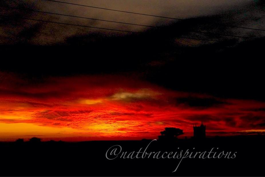 My warm sunset