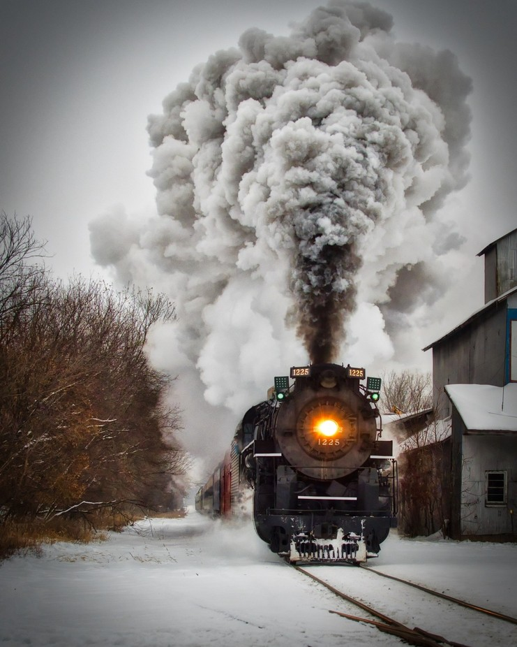 The Polar Express by Jillybean56 - Social Exposure Photo Contest Vol 13