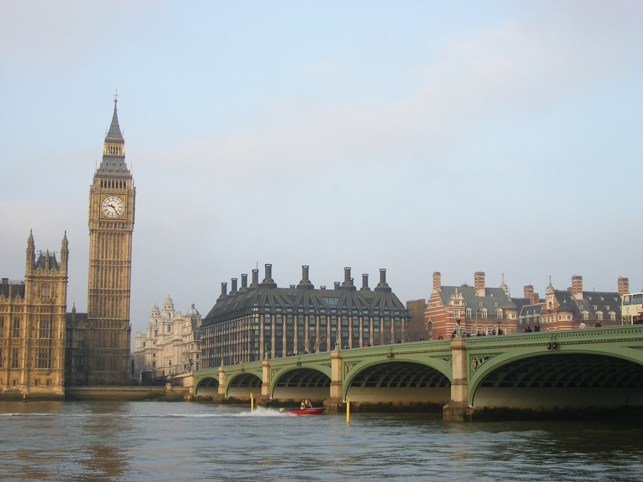 Westminster, early morning