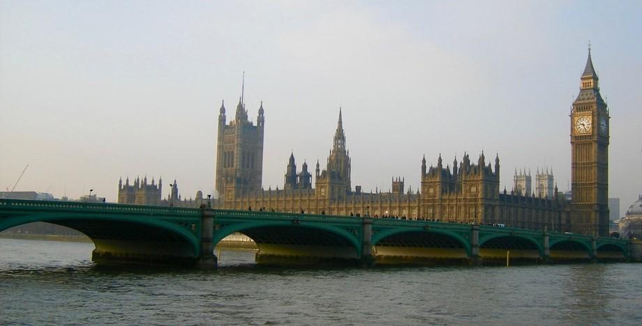 Westminster Bridge, early morning