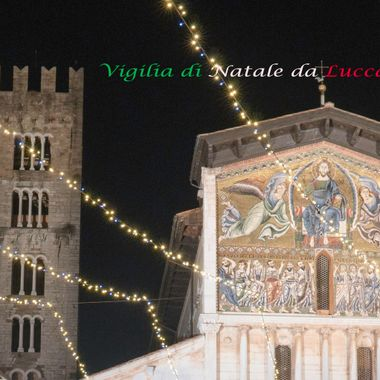 Lucca Italy on December 24th.