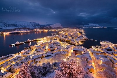 Winter in Ålesund
