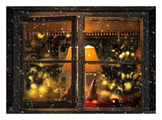 Christmas decorations by arnaslucinskas - Holiday Lights Photo Contest 2017