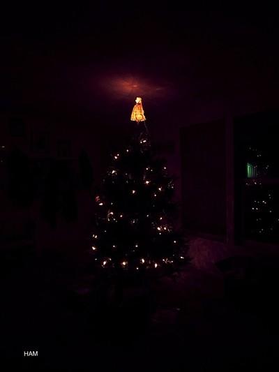 Old fashion christmas tree