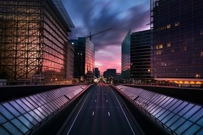 Bright lights, big city, Brussels