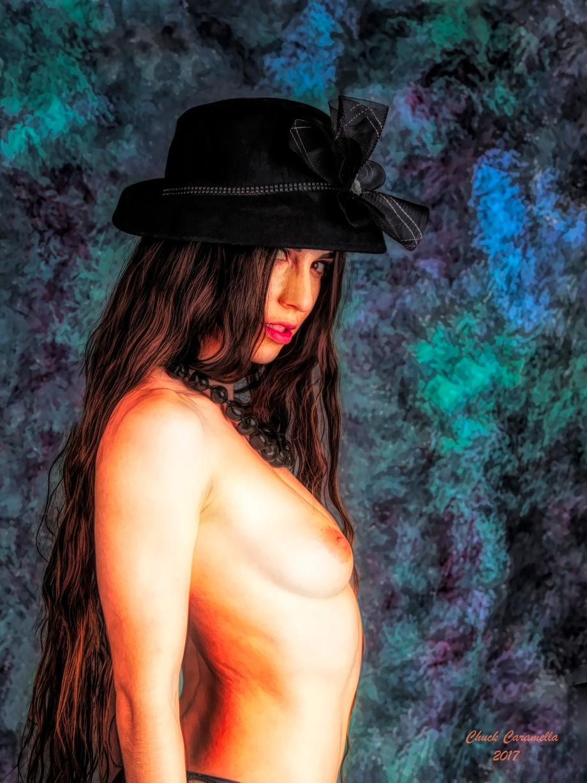 Model: SEKAA. Realistic Expressionism.