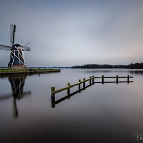 Captured this photo about 20  in after sunset in the north of holland