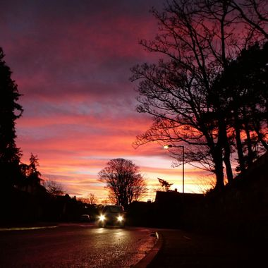 One December afternoon in Nairn