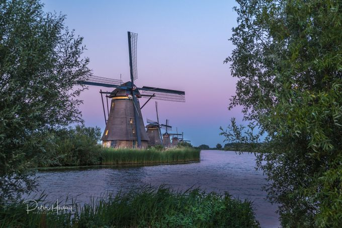 Dusk Mills  by aperture_creations - Windmills Photo Contest