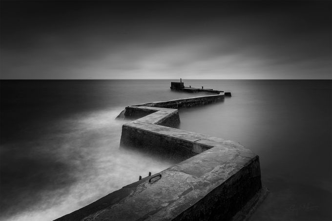 St Monans Pier, St Monans,Scotland. by garyalexander - Rule Of Seconds Photo Contest vol1
