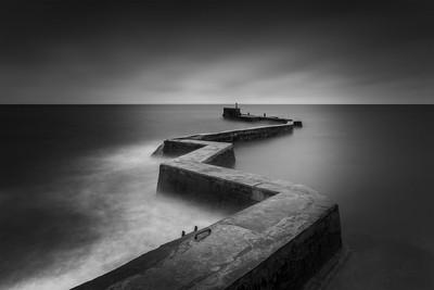 St Monans Pier, St Monans,Scotland.