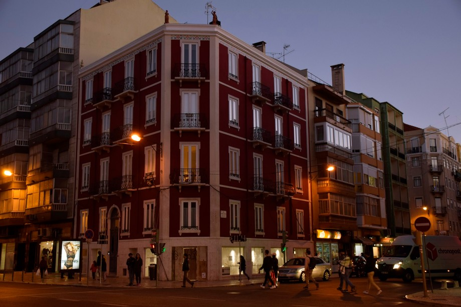 Evening at Lisbon