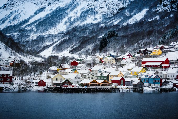 Norwayscape  by 2fly2sky - Towns In The Winter Photo Contest