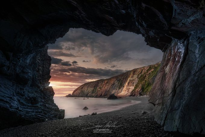 The Cavern by sergioabellovillanueva - Spectacular Cliffs Photo Contest