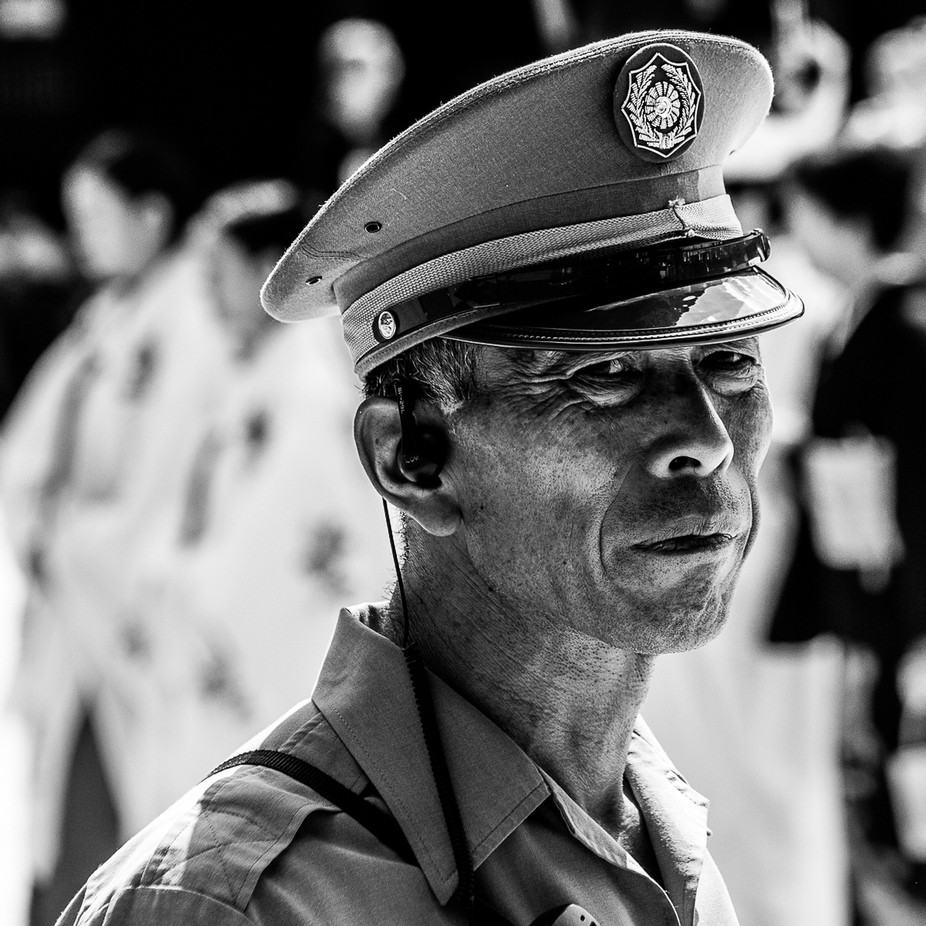Security Officer by janvanpoortvliet - Male Portraits Photo Contest