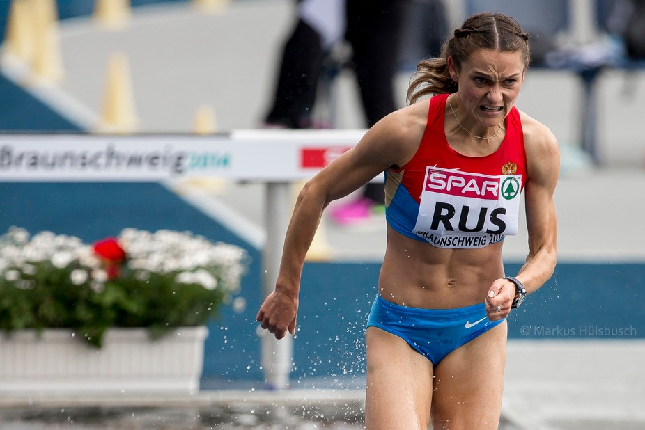 DOSEYKINA Yekaterina (RUS) at team challenge european championchip in Braunschweig (ger) in the 3...