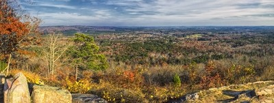 Panoramic of Pine Mountain #6