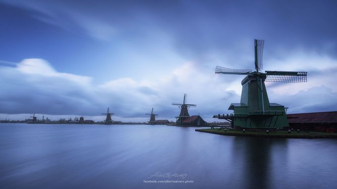 Just another Zaanse postcard II by albertoalvaro - Windmills Photo Contest
