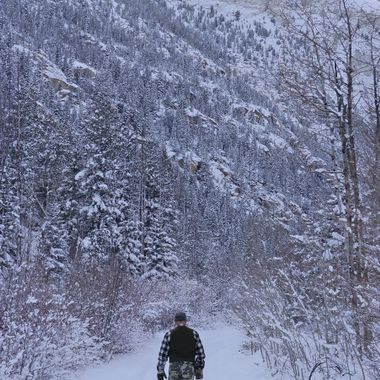 Snow Shoe the Winter Day