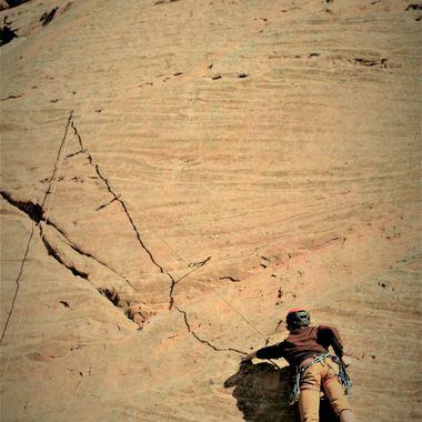 Climb on up.