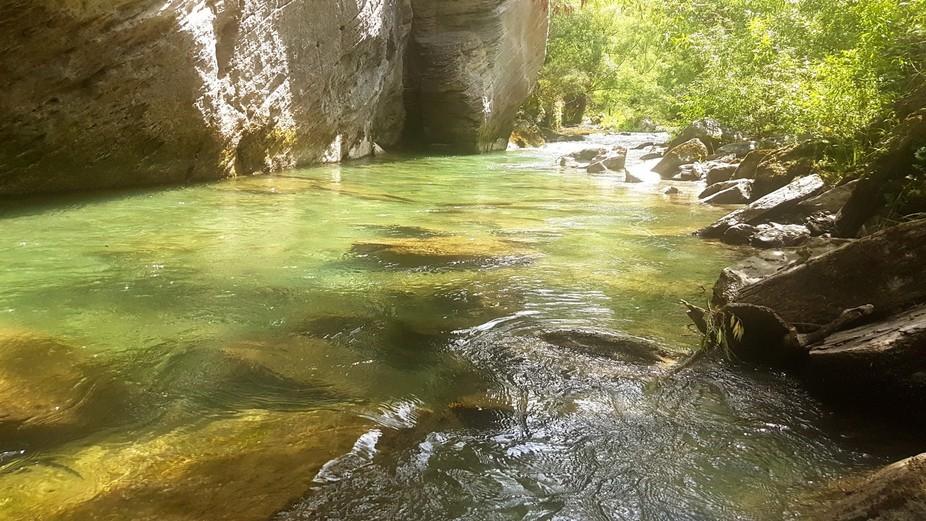 Arrowtown river swim