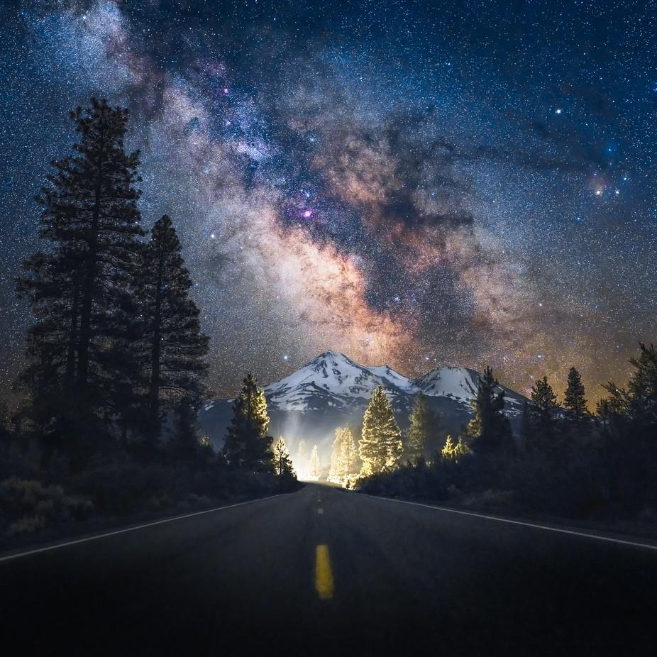 Shasta redux by ianchen0 - Night Wonders Photo Contest