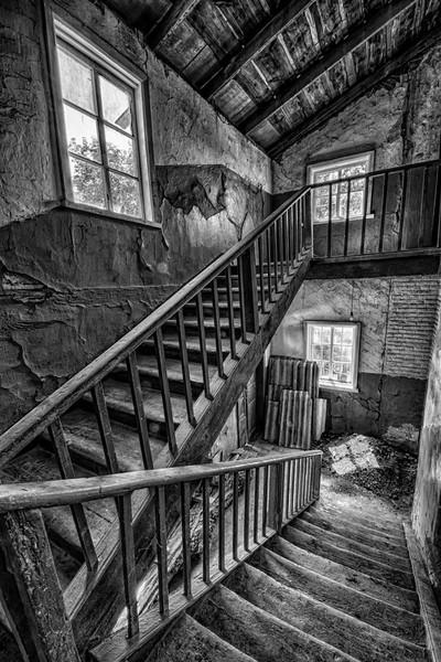 Church Stairwell in Romny, Ukraine