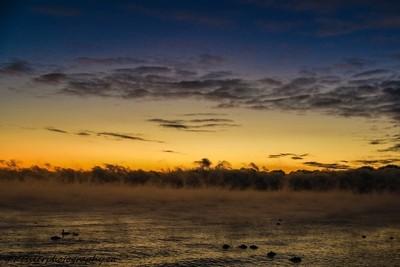 A Frigid Cold Sunrise