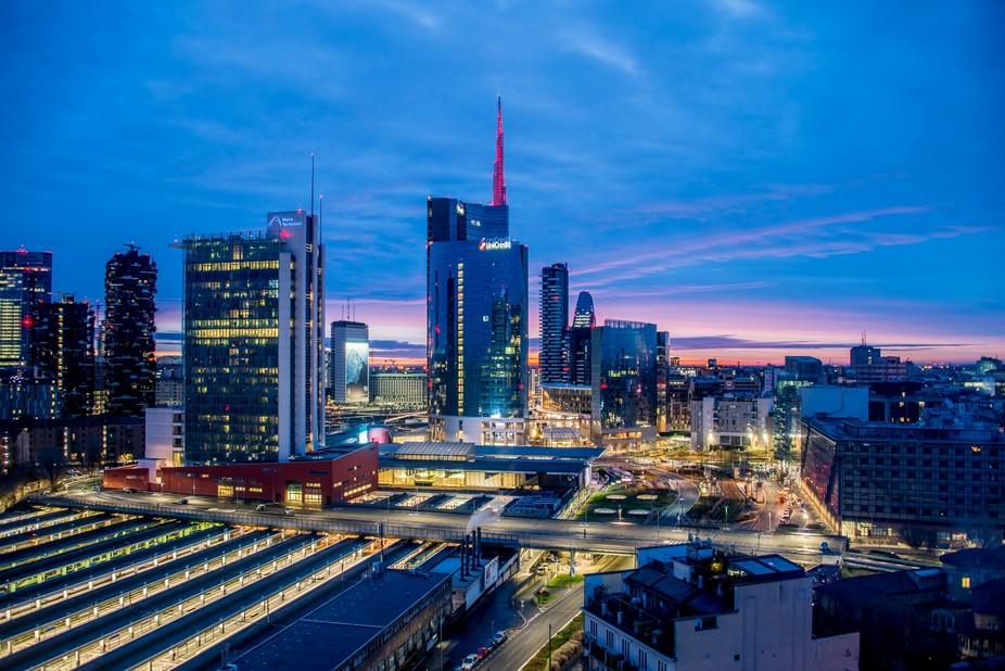Milan Sunrise