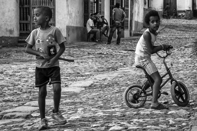 Trinidad - Cuba,  street photo