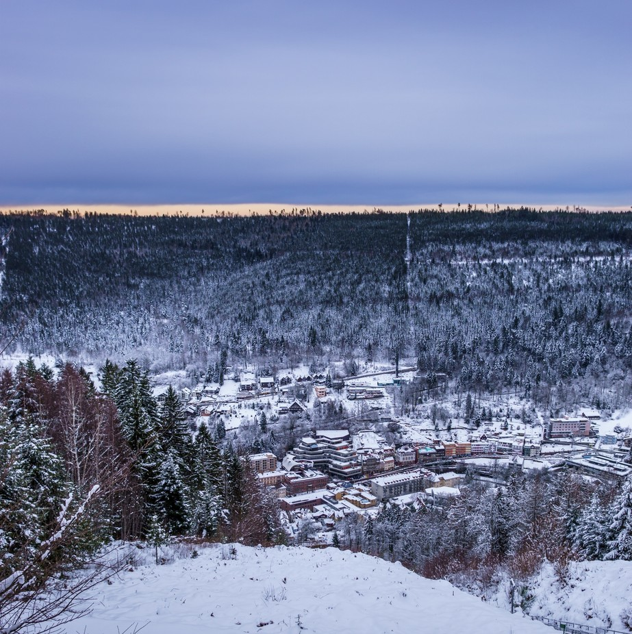 Bad Wildbad by gergelynemeti - Towns In The Winter Photo Contest
