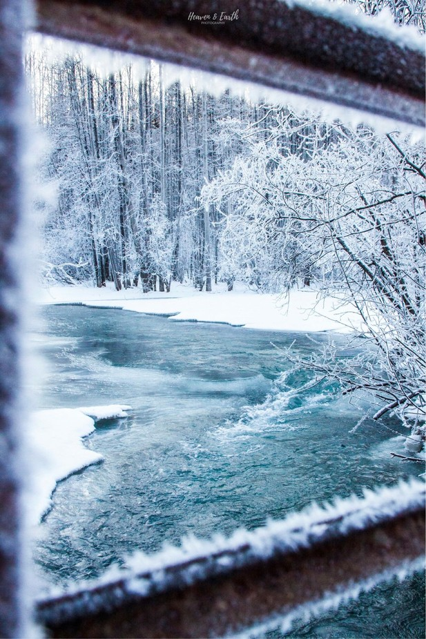 Peter's Creek, AK by heavenandearthphoto - The Cold Winter Photo Contest