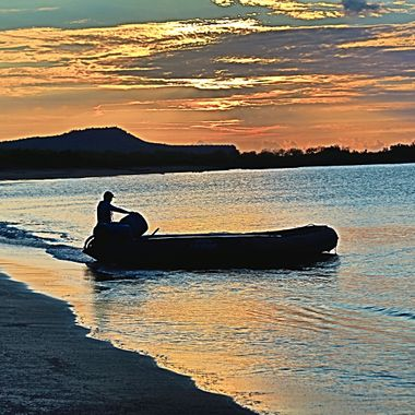 Sundown on the Galapagos!