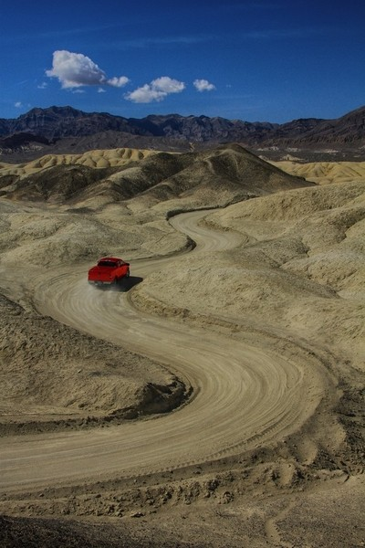 Death Valley S Curve