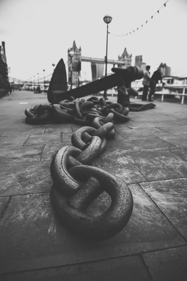 Anchor in London by HathsinPhotography - London Photo Contest