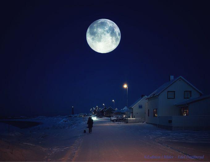 Moon by edeldagfinrud - Night Wonders Photo Contest